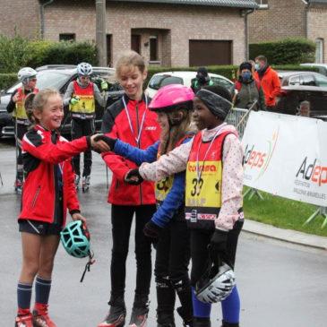 Pictures roller skiing race Aubel 04/10/2020
