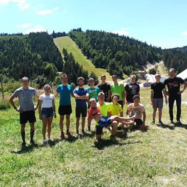 Training camp – Croix de Bauzon   July 2020