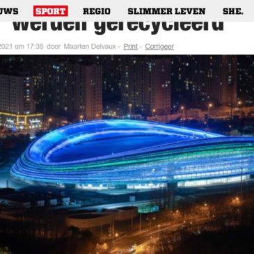 Het Nieuwsblad 4/2/2021 | Eén jaar voor de Winterspelen in Peking